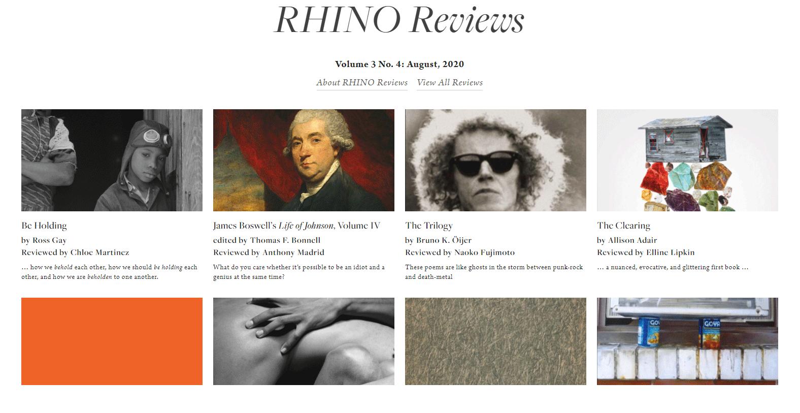 Rhino Reviews